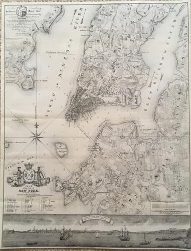 Valentines Manual - Plan of the City New York