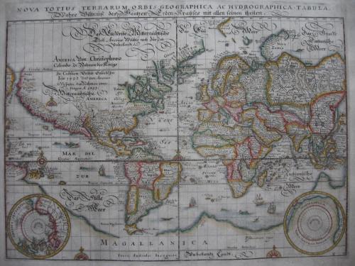 Merian - Nova Totius Terrarum Orbis