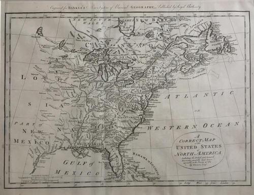 Bowen - Correct Map of the UNITED STATES