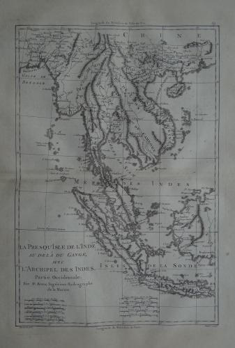 Bonne - La presqu Isle de L'Inde au de la du