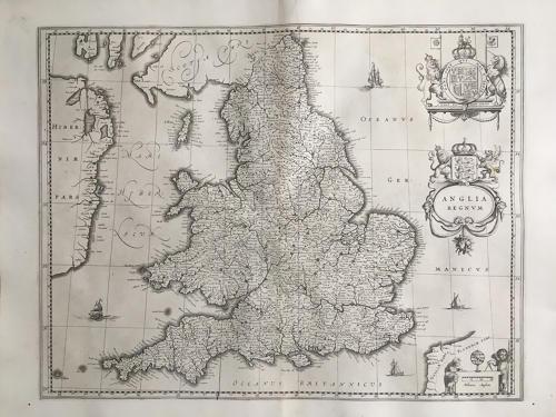 Blaeu - Anglia Regnum