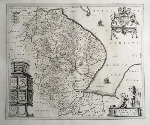 Blaeu - Lincolnia comitatus