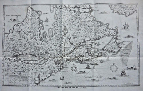 Champlain's Map of New France