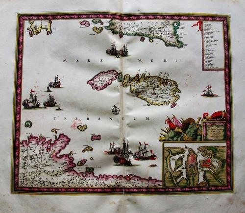 De Wit - Insulae Malta Accuratissima Delineat