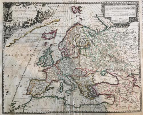 De Fer - L'Europe Suivant les Nouvelles Observations